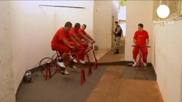 Brazilian Prisoners Pedal for Electricity
