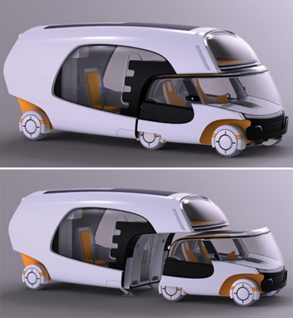 Smart Car Amp Camper Combined To Create Super Efficient Rv