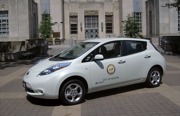 Houston, Nissan Leaf, Zipcar