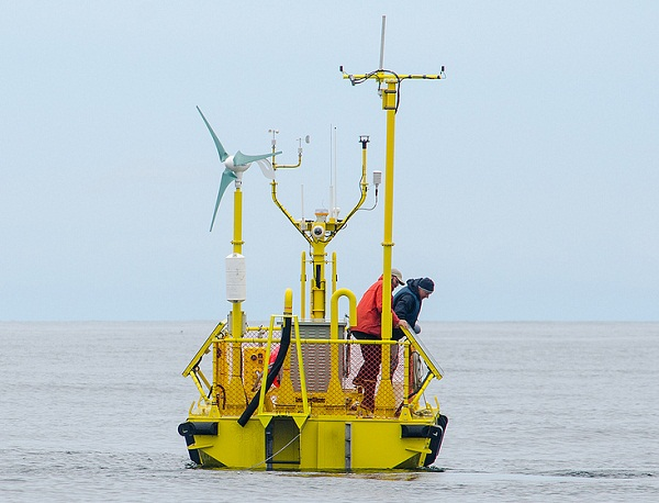 wave energy device test, ocean sentinel, oregon