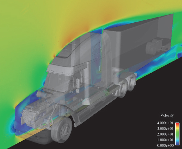 truck computer model