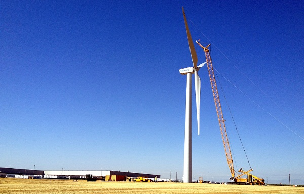 walmart wind power california