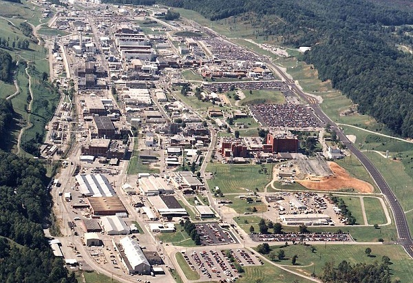 Y-12 National Security Complex, Oak Ridge, Tenn. (image via DOE)