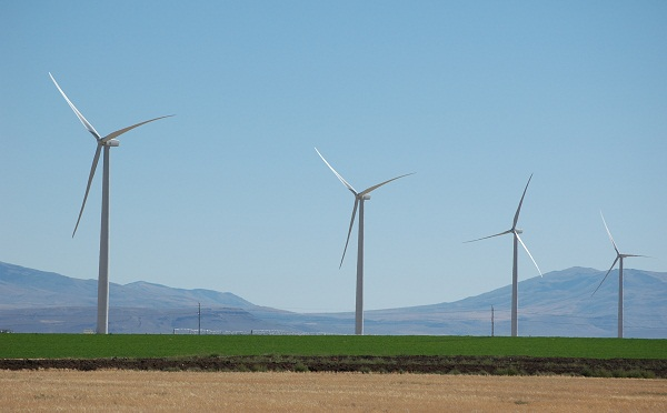 Idaho wind farm (image via GE Energy Financial Services)