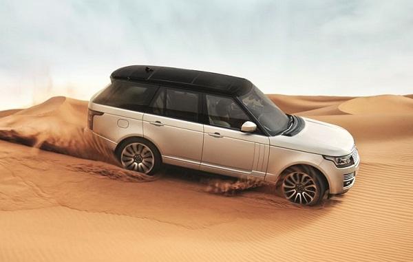 aluminum body Range Rover