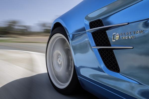 Mercedes Benz SLS AMG Electric Drive