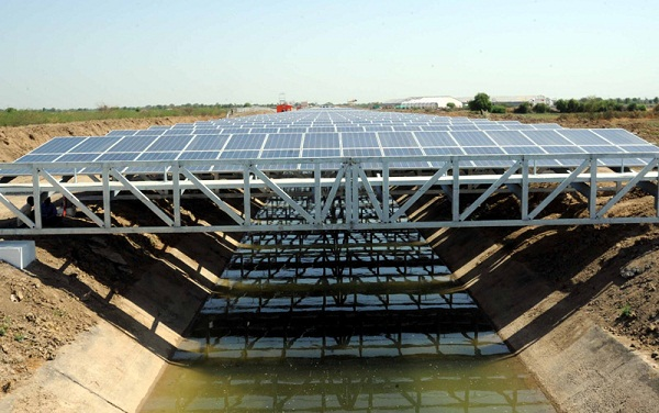 solar covered canal
