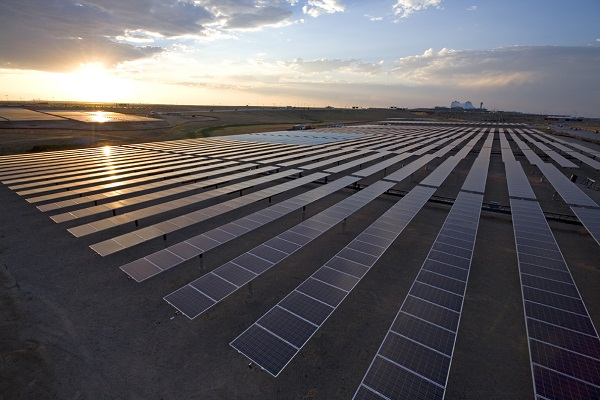 Solar power hasn't been an issue at the Denver airport (image via Denver International)