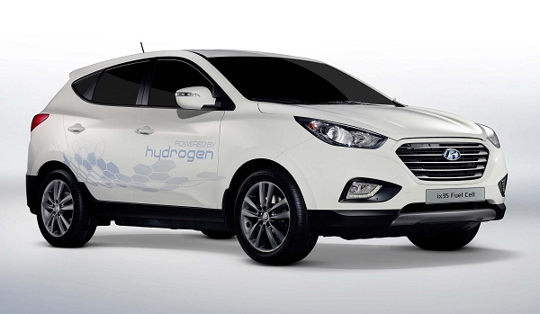 hyundai fuel cell car