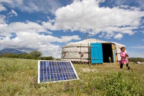 mongolia portable solar