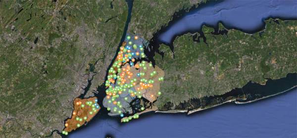 NYC Solar Map