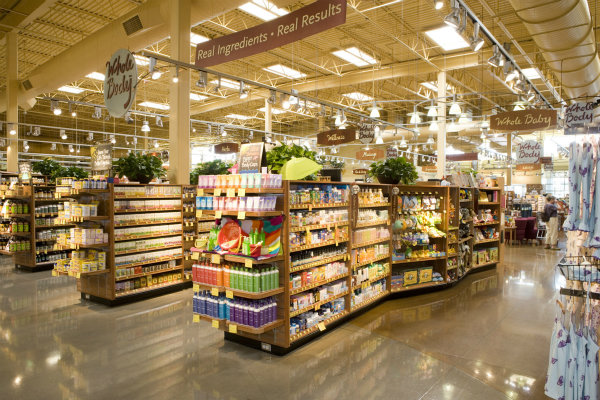 Whole Foods Beauty Products Aisle