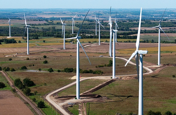 Flat Water Wind Farm, Nebraska (image via Gestamp Renewables)