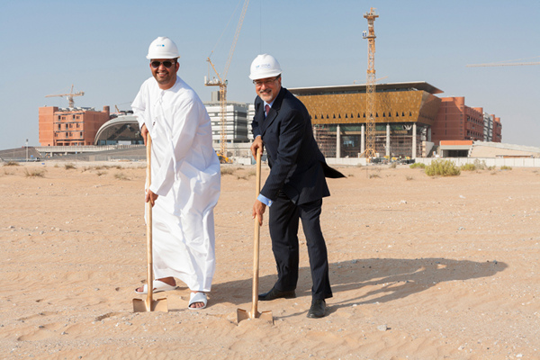 Masdar headquarters construction begins