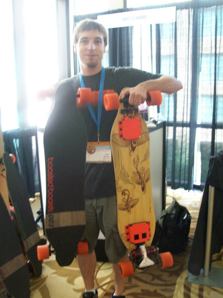 SxSW Eco 2012 Boosted Boards