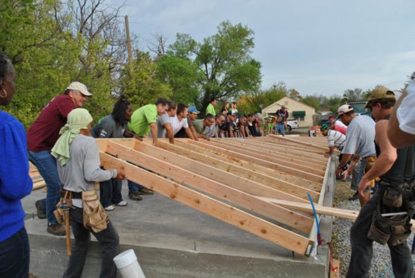 Tulsa Habitat for Humanity Greenblitz home