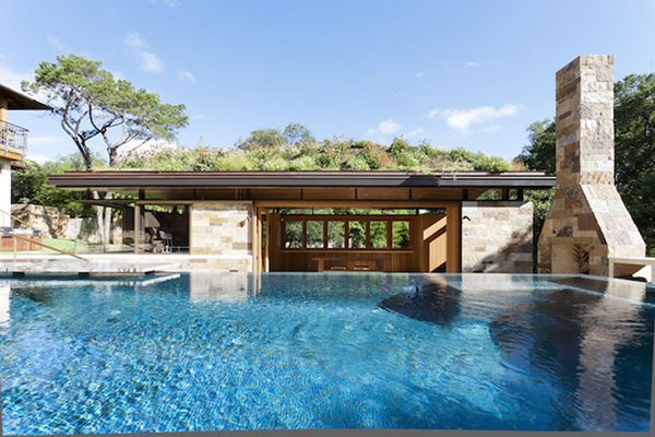 West Lake Pool House, Austin