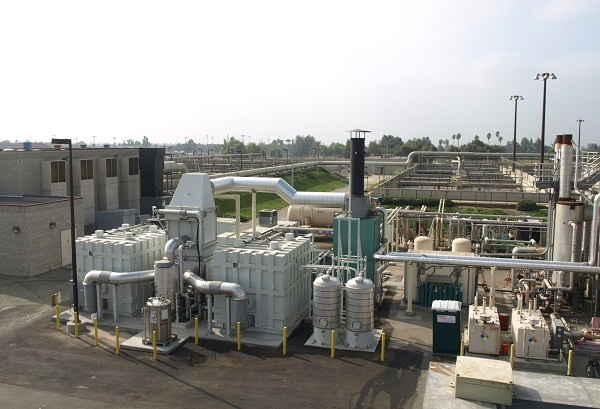 wastewater treatment fuel cell
