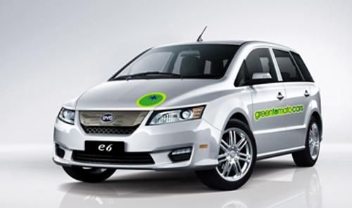 BYD e6 greentomatocars