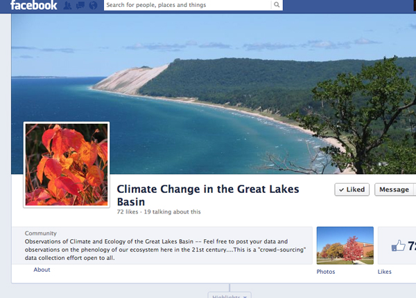 Climate Change in the Great Lakes Basin