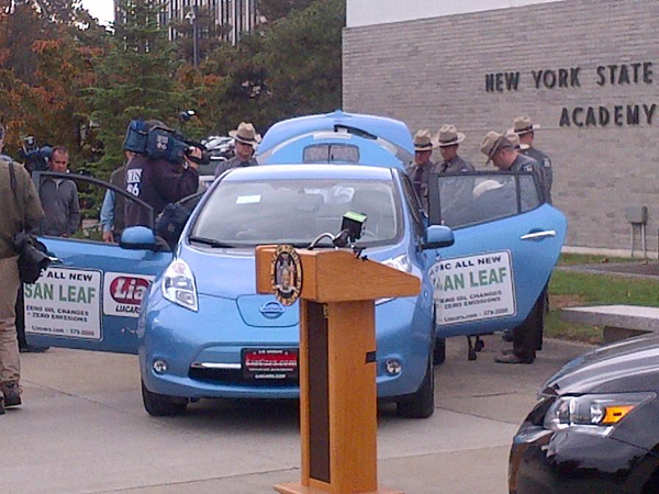New York State Police EV accident training