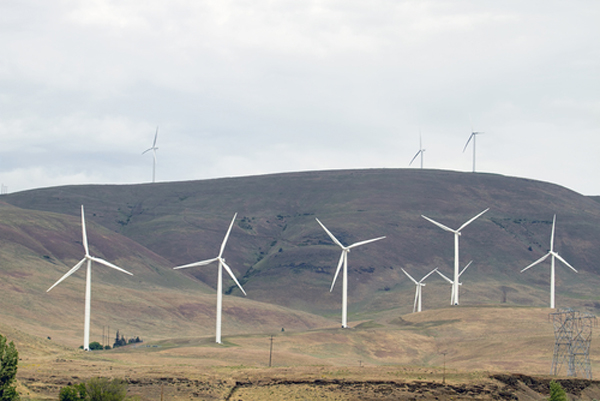 Pacific Northwest wind power