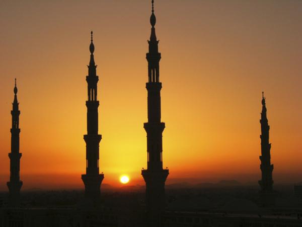 Saudi Arabia sun