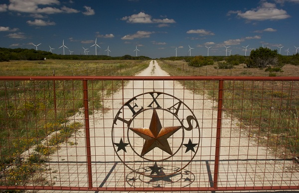 Wind power Texas