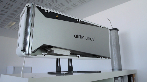 Existing Nova partnership: Air Sur -- photocatalytic air purification