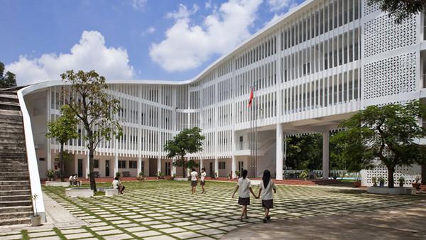 Binh Duon School by Vo Trong Nghia