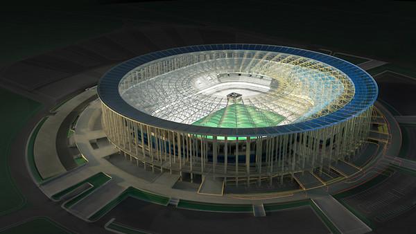 Brasilia solar stadium