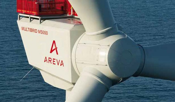 Areva Scotland wind turbine factory
