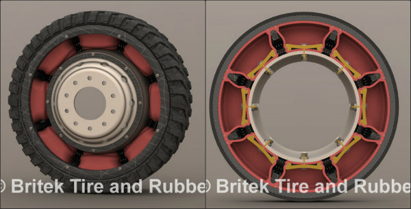 Britek Airless Tires