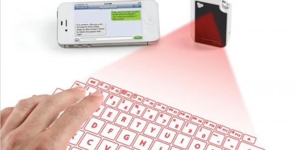 Brookstone, virtual keyboard, bluetooth, smartphone