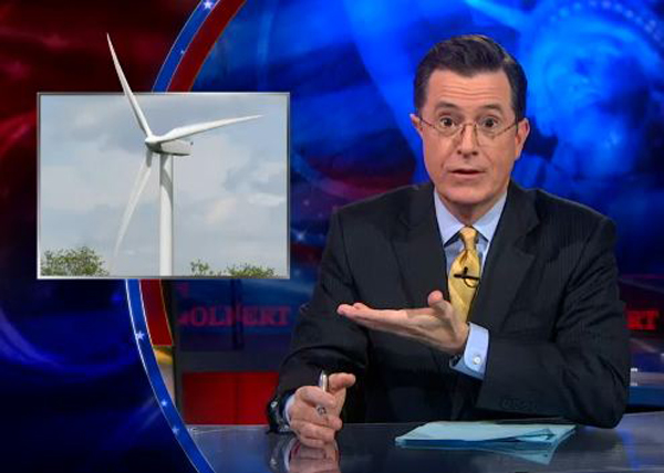 Colbert Wind Turbine Syndrome