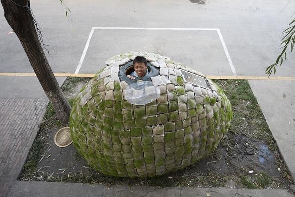 Egg house, Beijing
