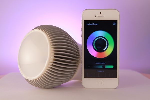 iLumi, LED, lighting, smartphone, mobile apps