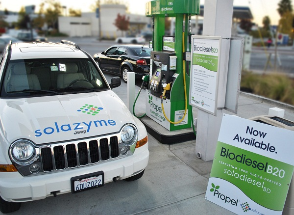 Propel Fuels Solazyme algae based biodiesel