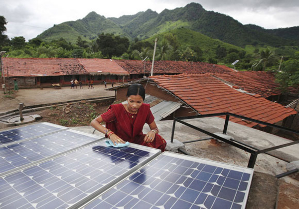 India rural solar power