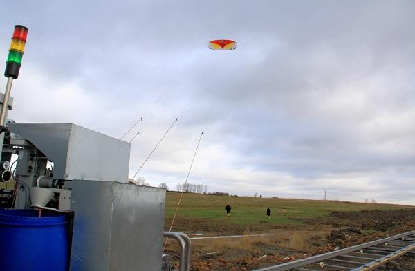 Fraunhofer IPA NTS kite wind power