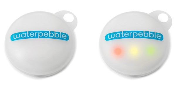 Water Pebble, water conservation, shower gadget