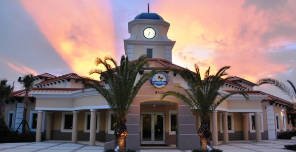 The new LEED Platinum-certified Palmetto Bay Municipal Center. Image via City of Palmetto Bay.