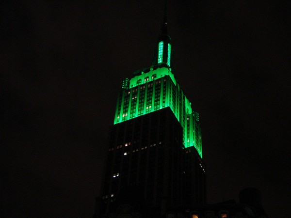 The retrofitted Empire State Building, more than 80 years old, has scored higher on Energy Star ratings than some of today's newly built LEED Gold structures. Image via kevinspencer/Flickr.