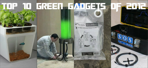top 10, green gadgets,