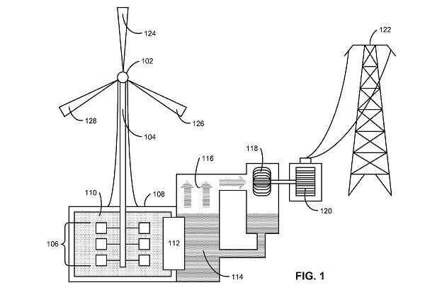 apple wind energy storage