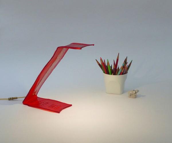Bite Me, LED lamp, Victor Vetterlein, NYC, biodegradable, green plastics