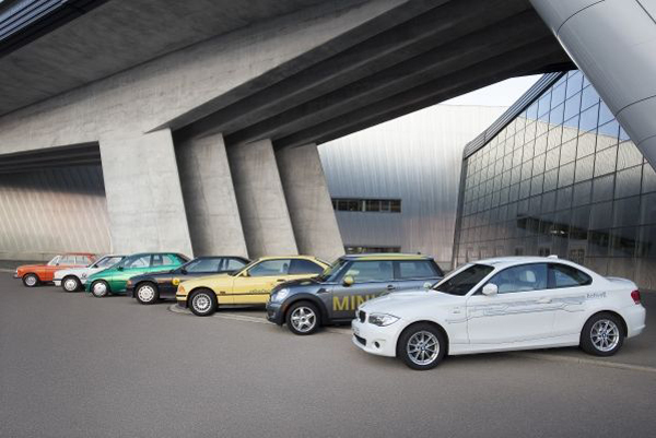 BMW EVs 40 Years