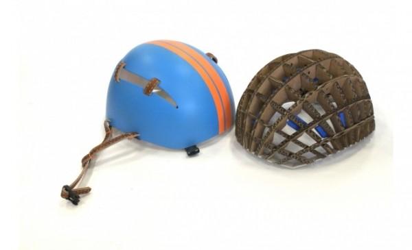 Kranium, helmet, polystyrene, corrugated cardboard, Anirudha Surabhi
