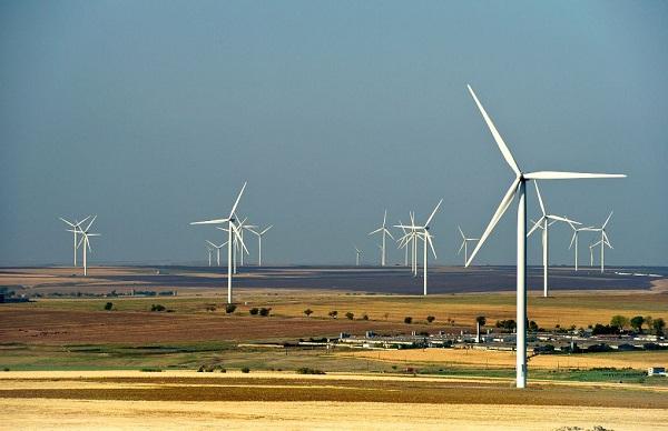 Fantanele-Cogealac wind farm, Romania