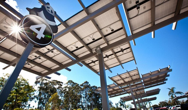 San Diego Zoo solar to EV charging